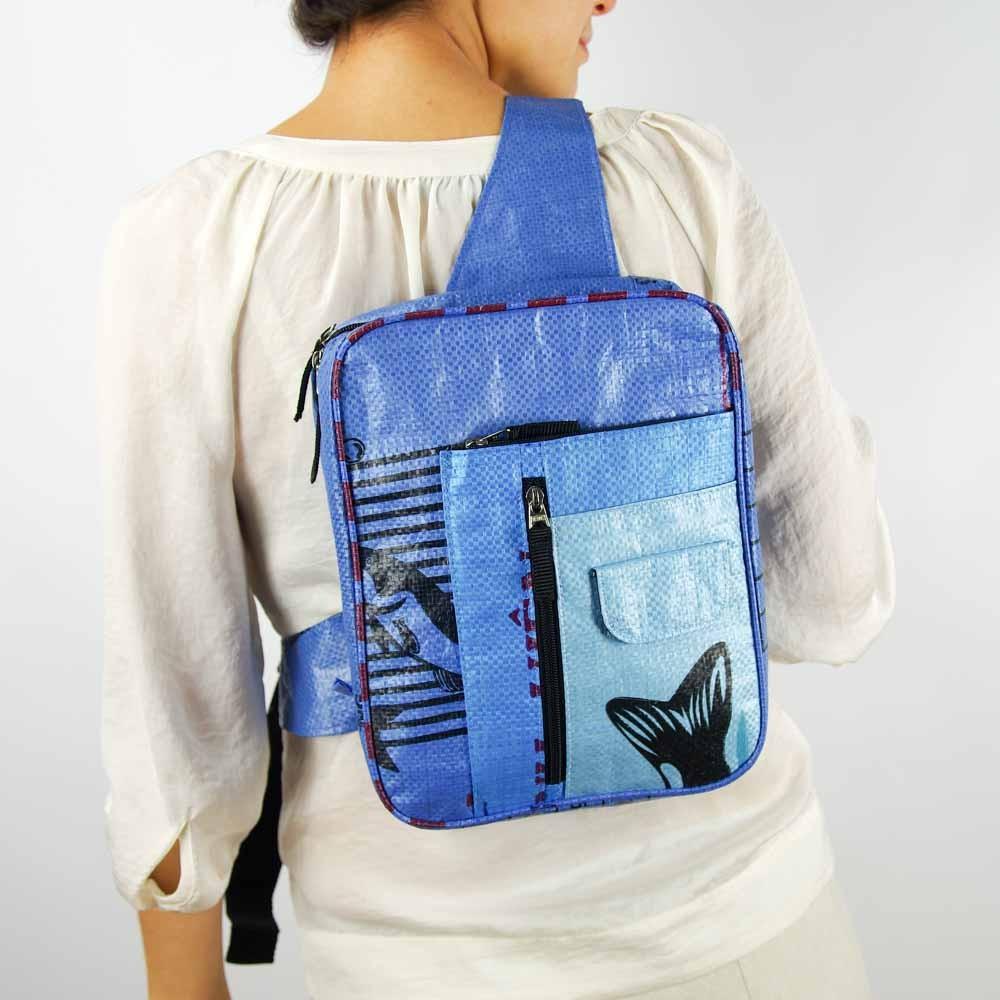 einkaufstaschen aus recyceltem material
