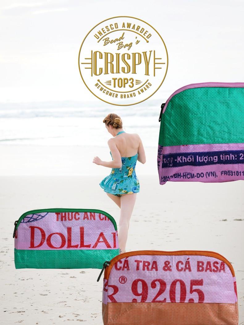 Beadbags Crispy neue nachhaltige Kosmetiktaschen
